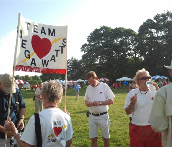 Heart Association Heart Walk